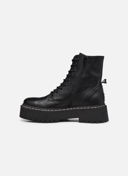Boots en enkellaarsjes Steve Madden SKYLAR Zwart voorkant