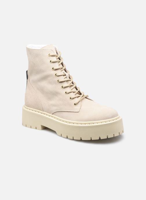 Boots en enkellaarsjes Steve Madden SKYLAR Beige detail