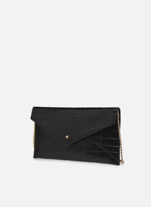 Handtaschen Petite mendigote Cassandra schwarz schuhe getragen