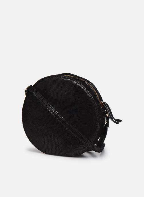 Handtaschen Petite mendigote Ringo schwarz ansicht von rechts