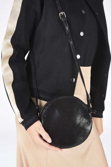 Handtaschen Petite mendigote Ringo schwarz ansicht von unten / tasche getragen
