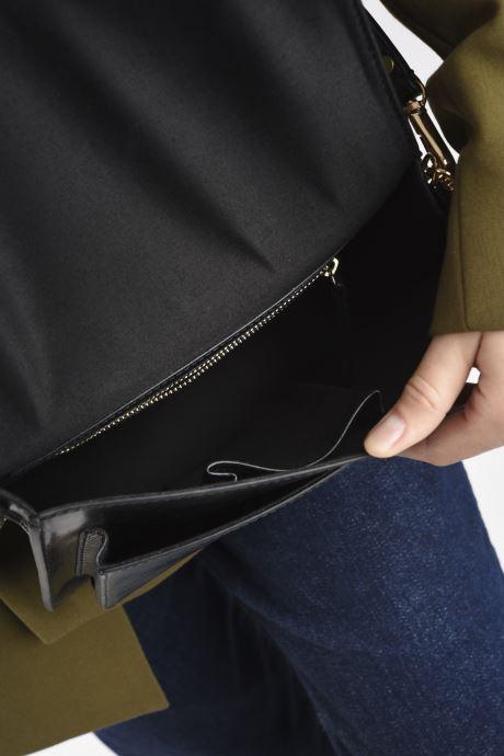 Handtaschen Petite mendigote Charles schwarz ansicht von hinten