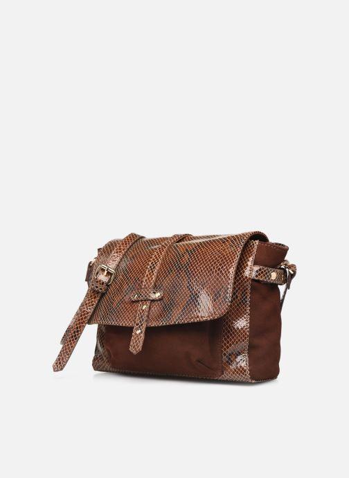Handtaschen Petite mendigote Wilson braun schuhe getragen