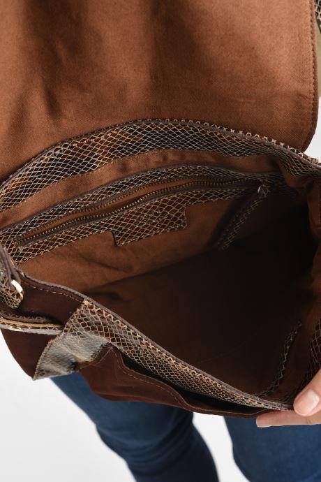 Handtaschen Petite mendigote Wilson braun ansicht von hinten
