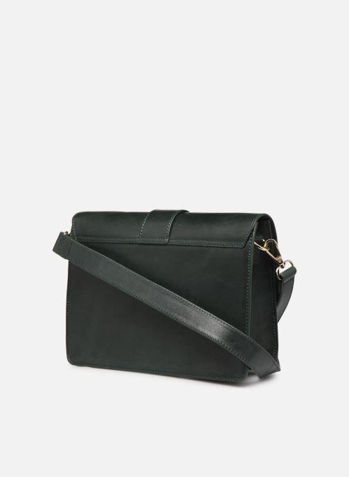 Handtaschen Petite mendigote Walace schwarz ansicht von rechts
