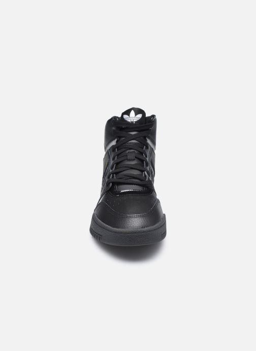 Sneaker adidas originals Drop Step schwarz schuhe getragen