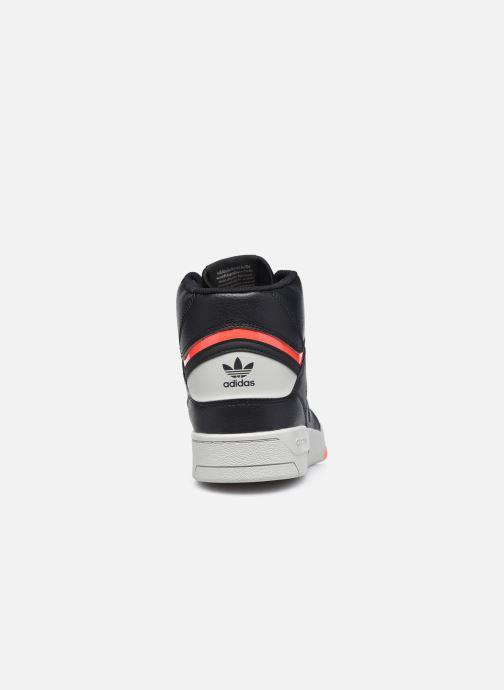 Sneaker adidas originals Drop Step schwarz ansicht von rechts
