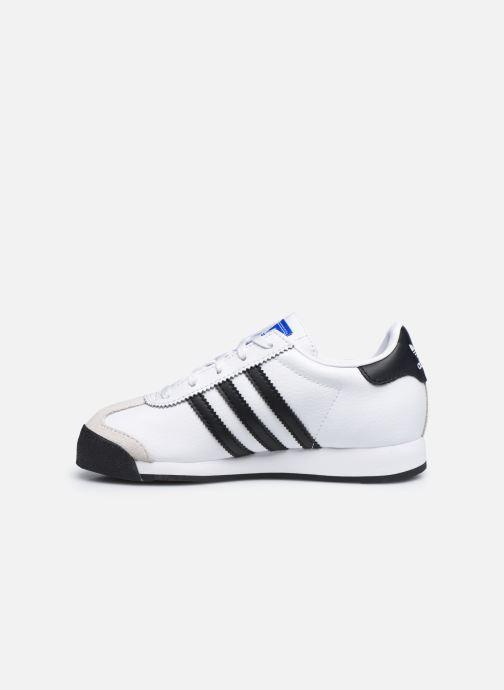 Sneaker adidas originals Samoa C weiß ansicht von vorne