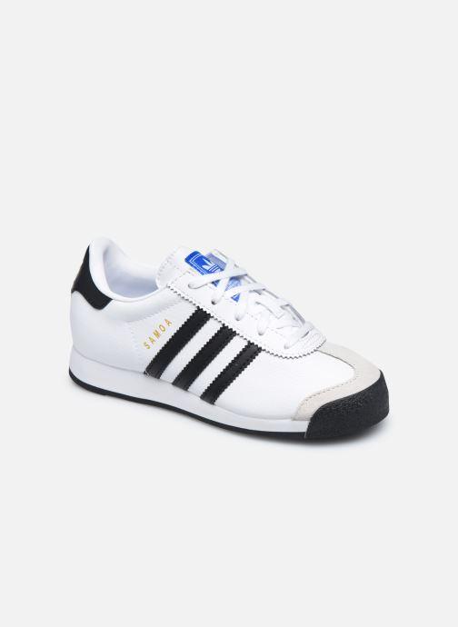 Almeja Consejo Del Sur  adidas originals Samoa C (Blanco) - Deportivas chez Sarenza (452984)