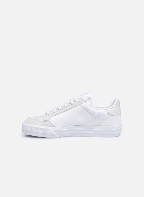 Sneakers adidas originals Continental Vulc C Bianco immagine frontale