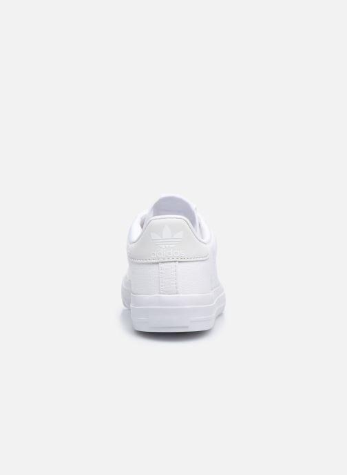 Sneakers adidas originals Continental Vulc C Bianco immagine destra