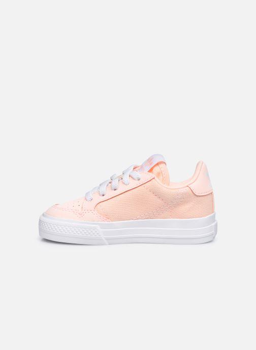 Sneaker adidas originals Continental Vulc El rosa ansicht von vorne