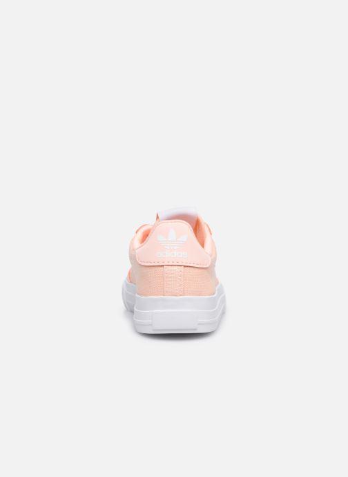 Sneaker adidas originals Continental Vulc El rosa ansicht von rechts