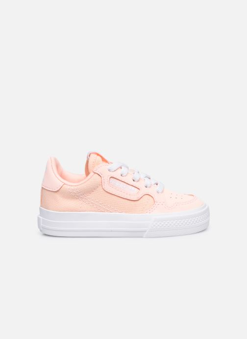 Sneaker adidas originals Continental Vulc El rosa ansicht von hinten