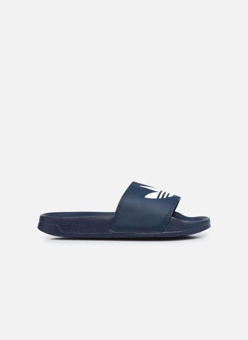 Sandalias adidas originals Adilette Lite J Azul vistra trasera