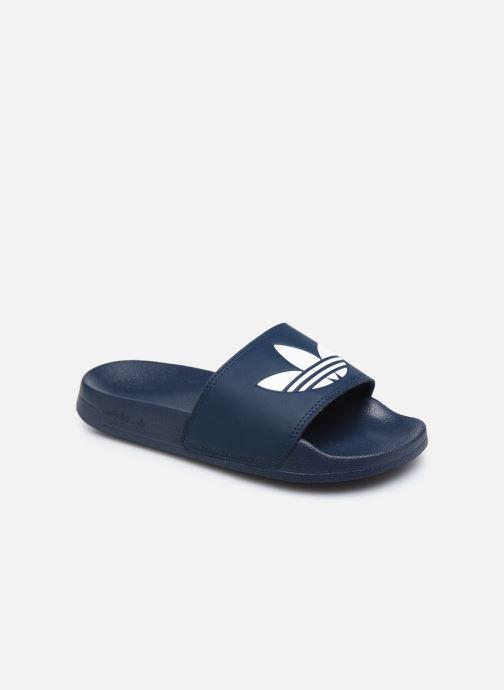 Sandales et nu-pieds adidas originals Adilette Lite J Bleu vue détail/paire