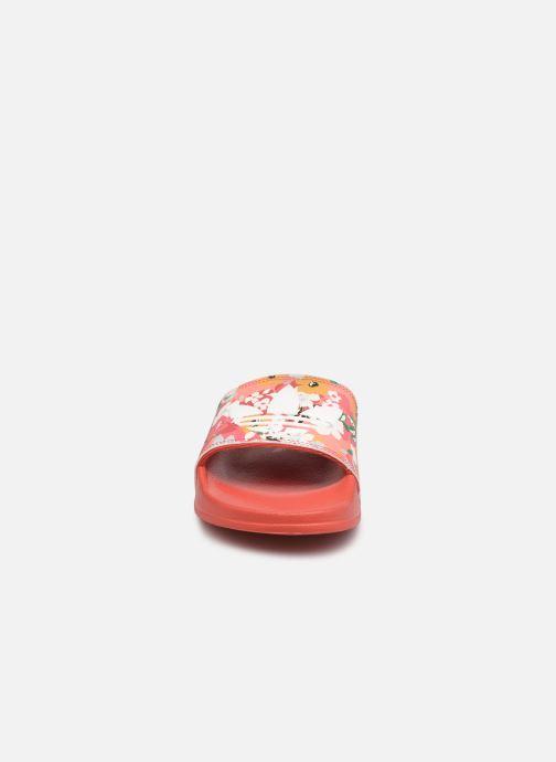 Sandalen adidas originals Adilette Lite J rosa schuhe getragen