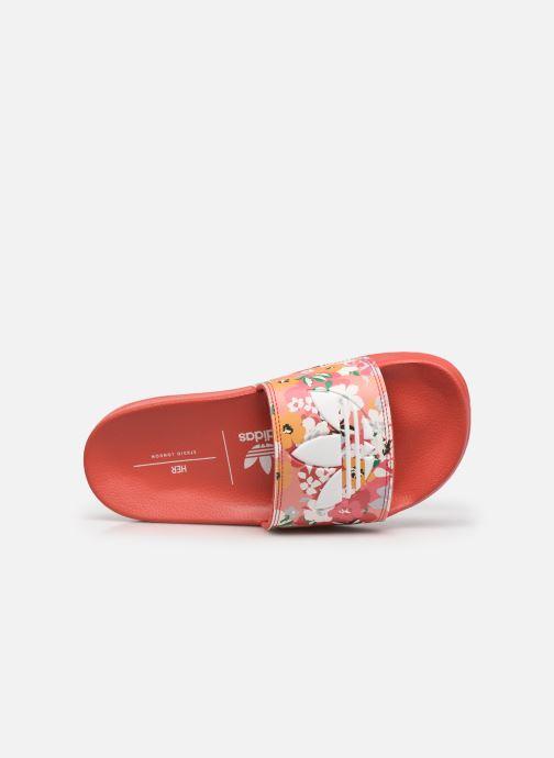 Sandalen adidas originals Adilette Lite J rosa ansicht von links
