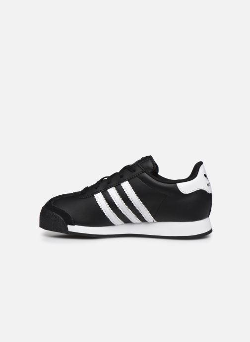 Sneakers adidas originals Samoa J Zwart voorkant