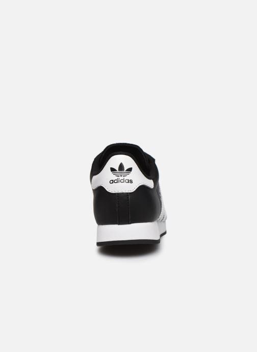 Sneakers adidas originals Samoa J Zwart rechts