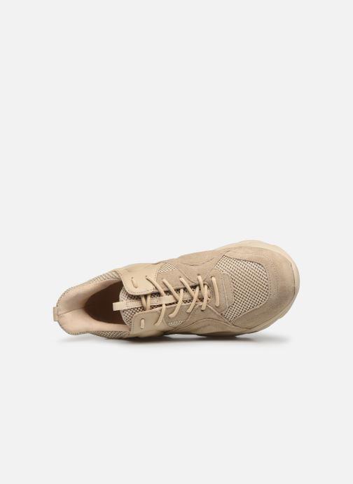 Sneaker Steve Madden MOVEMENT beige ansicht von links