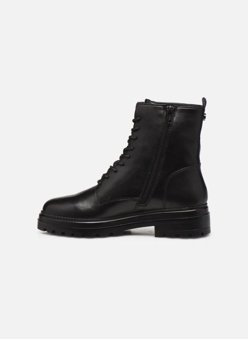 Bottines et boots Steve Madden NUVO LEATHER Noir vue face