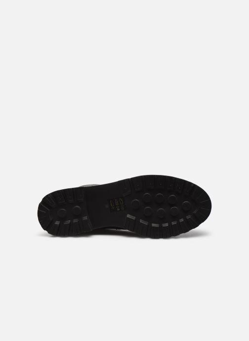 Stiefeletten & Boots Steve Madden NUVO LEATHER schwarz ansicht von oben
