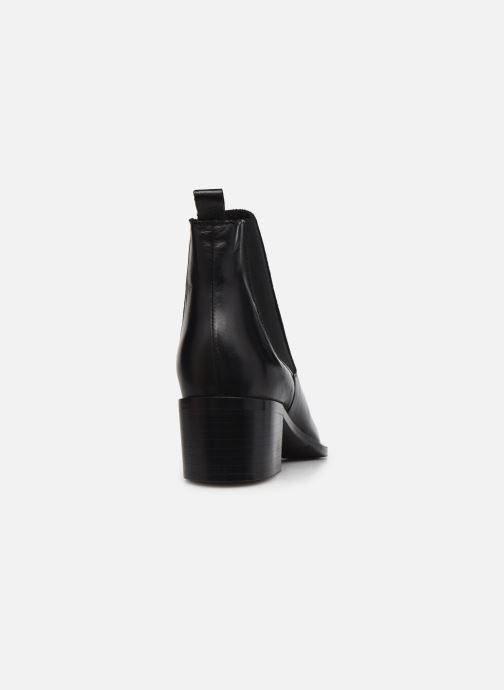 Bottines et boots Bianco 26-50096 Noir vue droite