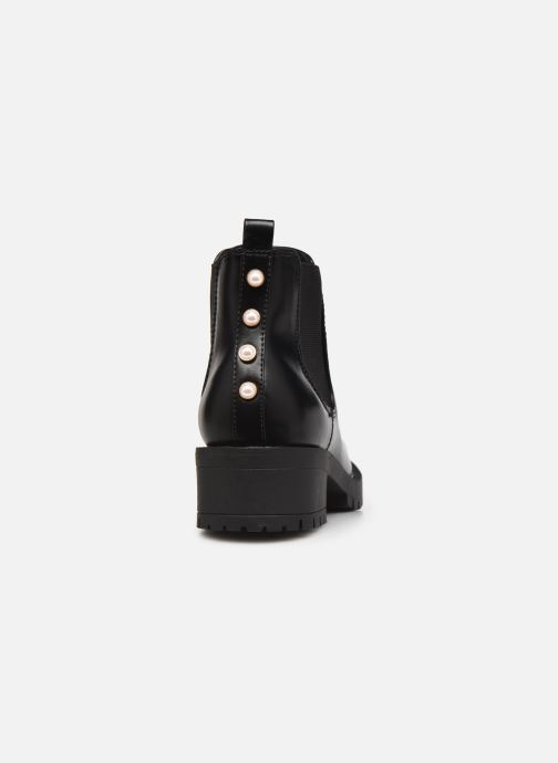 Bottines et boots Bianco 26-50606 Noir vue droite