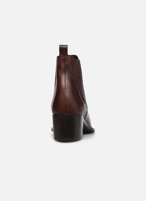 Bottines et boots Bianco 26-50641 Marron vue droite