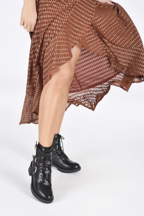 Bottines et boots Bianco 26-50252 Noir vue bas / vue portée sac