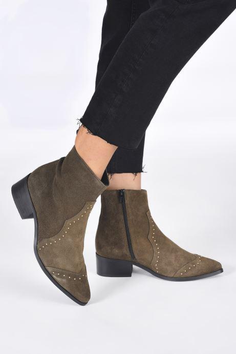 Bottines et boots Bianco 26-50668 Vert vue bas / vue portée sac
