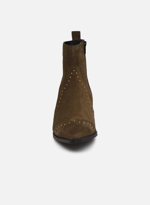 Bottines et boots Bianco 26-50668 Vert vue portées chaussures