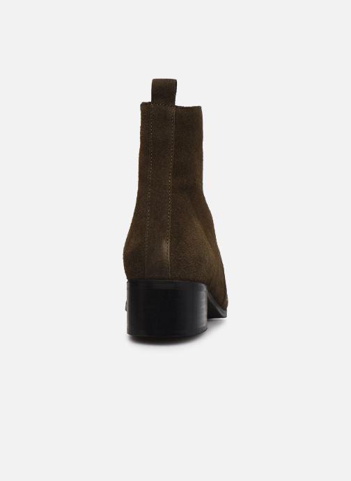 Bottines et boots Bianco 26-50668 Vert vue droite