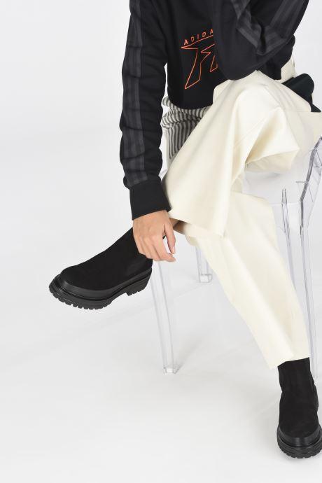 Bottines et boots Bianco 26-50684 Noir vue bas / vue portée sac