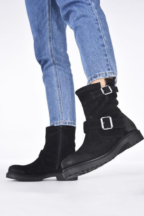 Bottines et boots Bianco 26-50689 Noir vue bas / vue portée sac
