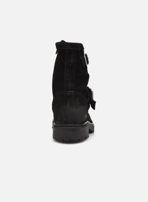 Bottines et boots Bianco 26-50689 Noir vue droite
