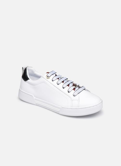 Sneaker Tommy Hilfiger BRANDED OUTSOLE CROC SNEAKER weiß detaillierte ansicht/modell
