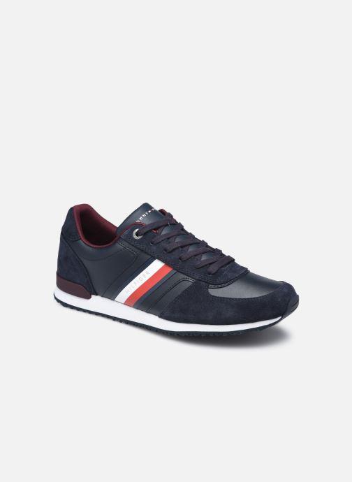 Sneaker Tommy Hilfiger ICONIC MIX RUNNER blau detaillierte ansicht/modell