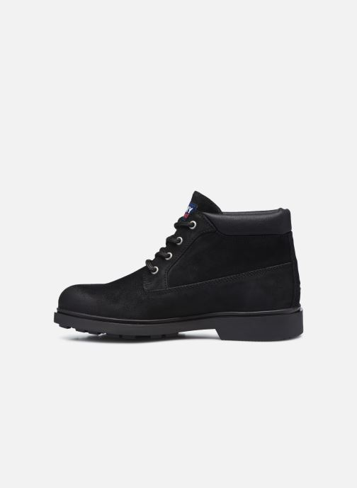 Stiefeletten & Boots Tommy Hilfiger LOW CUT TOMMY JEANS BOOT schwarz ansicht von vorne