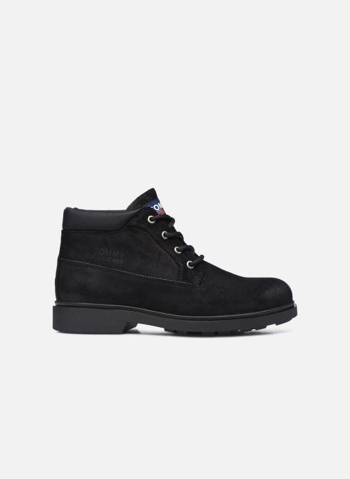 Stiefeletten & Boots Tommy Hilfiger LOW CUT TOMMY JEANS BOOT schwarz ansicht von hinten