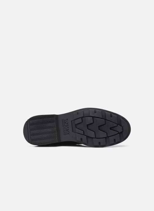 Stiefeletten & Boots Tommy Hilfiger LOW CUT TOMMY JEANS BOOT schwarz ansicht von oben