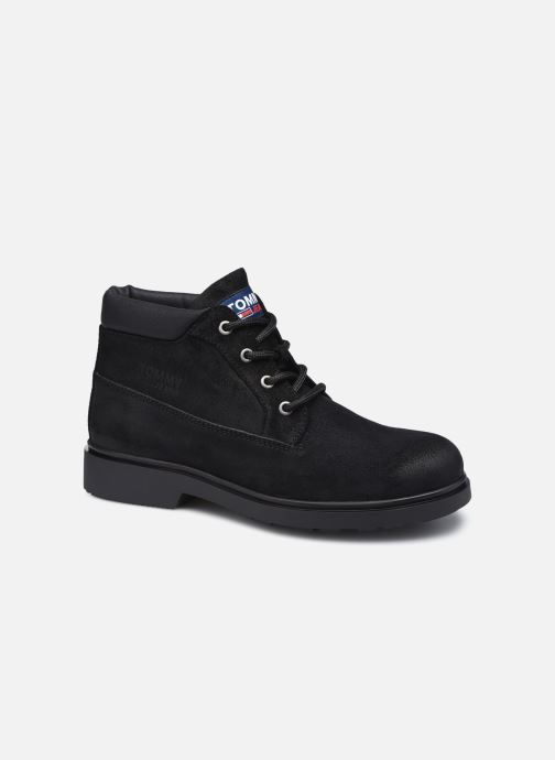 Stiefeletten & Boots Tommy Hilfiger LOW CUT TOMMY JEANS BOOT schwarz detaillierte ansicht/modell