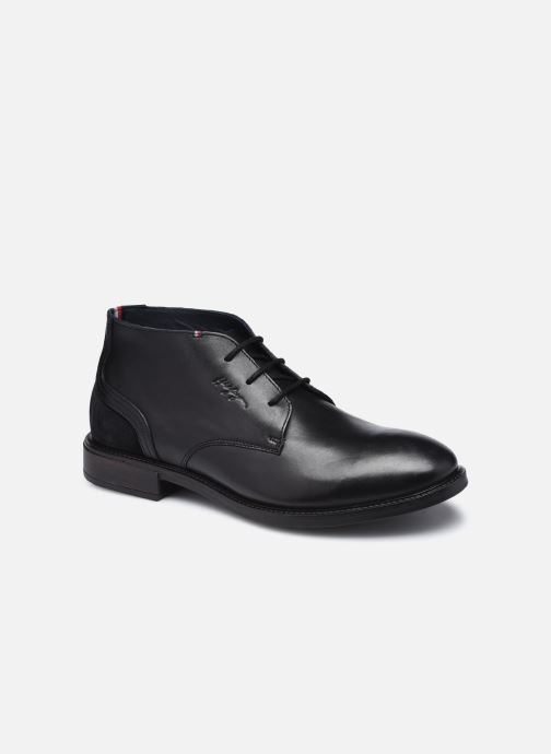 ELEVATED LEATHER MIX LOW BOOT