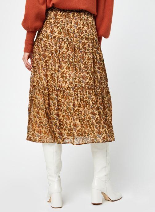 Vêtements Jolie Jolie Petite Mendigote Agripine Marron vue portées chaussures