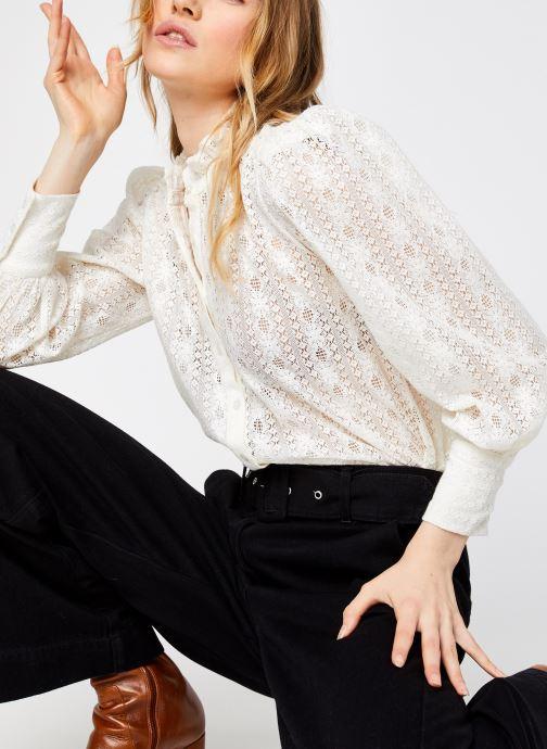 Vêtements Jolie Jolie Petite Mendigote Cordelia Blanc vue détail/paire