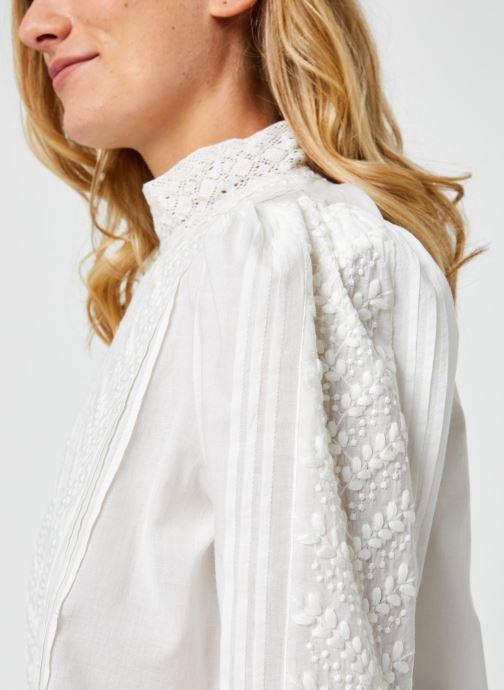 Vêtements Jolie Jolie Petite Mendigote Leonie Blanc vue face
