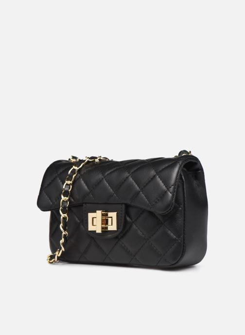 Handtaschen Georgia Rose Paula schwarz schuhe getragen