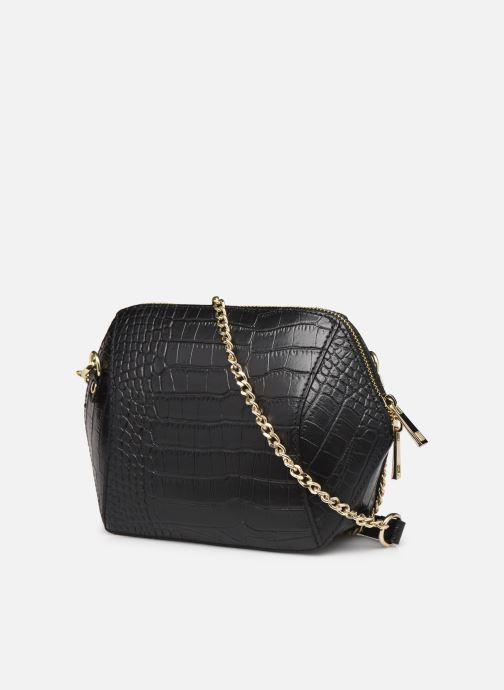 Handtaschen Georgia Rose Prisca schwarz ansicht von rechts