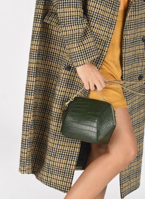 Handtaschen Georgia Rose Prisca grün ansicht von unten / tasche getragen